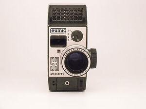 Eumig S3 Zoom 8mm camera, 1963.