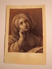 Guido Reni - Persische Sibylle - Ascetur de Virgine - Kunstbild / CDV