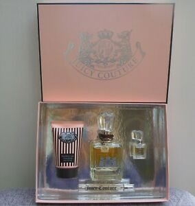Juicy Couture EDP Fragrance + Royal Body Creme Gift Set, 100ml, Brand New in Box
