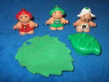 Lego Duplo Little Forrest Friends 3 X Wichtel Figur Troll Waldmann Schlafsack