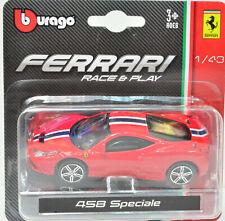 Ferrari - 458 Speciale - rot Maßstab 1:43 von bburago