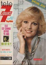Télé 7 Jours N° 929/1978 - E. Leclercq Y. Montand F. Forsyth Hélène Dieudonné