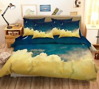 3D Night Starry Sky Moon KEP438 Bed Pillowcases Quilt Duvet Cover Kay