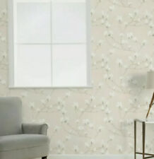 Laura Ashley Magnolia Grove Natural Wallpaper (Slightly Imperfect)