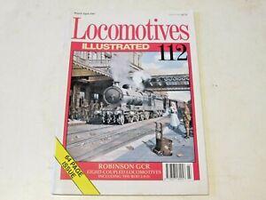 LOCOMOTIVE ILLUSTRATED No. 112 ROBINSON GCR EIGHT-COUPLED LOCOS + ROD 2-8-0s