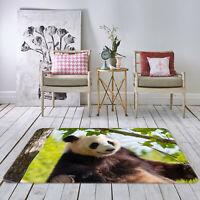 3D Red Parrot Tree P142 Animal Non Slip Rug Mat Elegant Photo Carpet Zoe