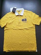 Authentic    Lamborgini  1963 sportive yellow Polo shirt size M