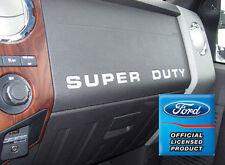 Ford F250 Super Duty Dash Board Letter Inserts Stickers 08 09 10 11 12 13 14 15