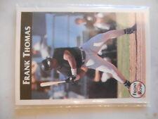 1992 Front Row Frank Thomas Chicago White Sox HOF Complete 7-Card Baseball Set