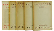 PATERSON 1-5 by WILLIAM CARLOS WILLIAMS ~ First Editon 1946 - 1958  1st Complete