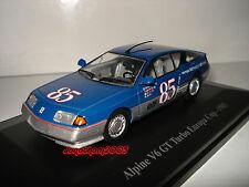 ELIGOR RENAULT ALPINE V6 GT TURBO EUROPA CUP 1985 1/43°