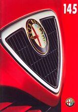 Alfa Romeo 145 UK market sales brochure