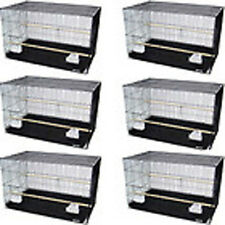 Lot of 6 Aviary Breeding Bird Cage 24x16x16--2423-144