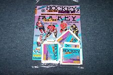 HOCKEY STICKER ALBUM 95-96 NEW IN PACKAGE WITH 10 PACKS STICKERS
