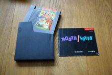 North & South Nord Süd NES Nintendo RAR RARE Modul Schuber Anleitung TOP