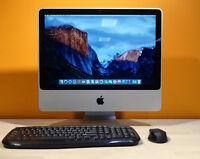 """Apple iMac 20"""" - Keyboard+Mouse+WiFi+DVD+Webcam+Speakers - OS X 2015 - WARRANTY"""