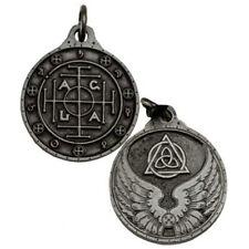 "NEW AGLA Talisman Pewter 1.25"" Amulet Pendant Hermetic Ceremonial Magic"