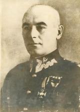 Le général Rydz-Smigly, Inspecteur Général de l'Armée Polonaise Vintage sil