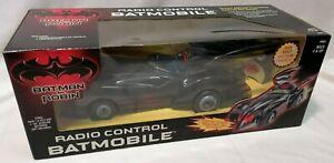 BATMAN - *MIB* 1997 KB Toys Excl Batman & Robin Remote Control Batmobile Kenner