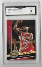 Michael Jordan 2009 Upper Deck 20th Anniversary  #177 Graded psa gma Mint 9 L👀K
