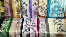 Joblot 24 pcs Faux silk scarf scarves NEW wholesale 55x160 cm Lot 16