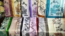 Joblot 24 Pcs Faux Silk Scarf Scarves Wholesale 55x160 Cm Lot 16