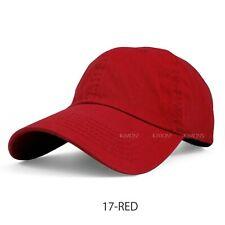 Baseball Cap Cotton Solid Plain men women Ball Hat Dad Hat Polo Washed Ball