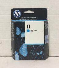 Genuine New HP 11 Cyan Original Ink Sealed Cartridge (C4836A) - OEM