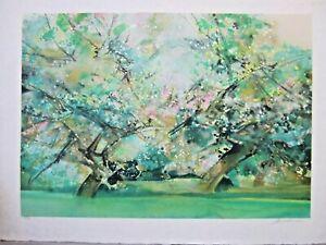 Camille Hilaire, Hand Signed Original Color LIthograph Ltd.Ed.