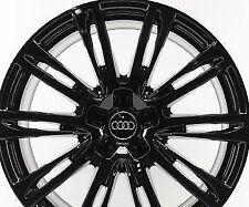 4 Jantes 19'' neuves look S6 S8 Audi BLACK pour Audi A4 A5 A6 A7 A8 (Q7 new) Q5