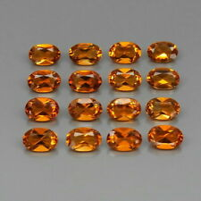 6.25 Carats 6x4 Natural CITRINE Brazil 16Pcs LOT for Jewelry Setting
