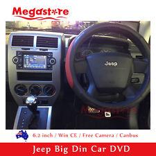 "6.2""Car DVD GPS Player Jeep Commander Compass cherokee liberty patriot Wrangler"