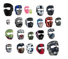 Zan Headgear Neoprene Full Face Mask All Colors