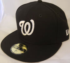 NWT NEW ERA Washington NATIONALS DC 59FIFTY size 7 1 4 fitted baseball cap  hat 063a6efe7407