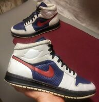 Nike Air Jordan 1 Alpha I.D. Customs◾Size 9.5◾2010◾407034-993◾❗WOW!❗