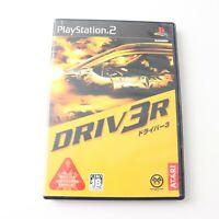 Driv3r Driver PS2 Sony Japan Import with Manual PlayStation2 PSX Racing Atari