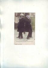 carte postale ancienne - Les deux poivrots -- dos vierge -
