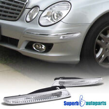 For 2007-2009 Mercedes-Benz W211 E-Class Front Bumper Lights Signal Lamps Depo (Fits: Mercedes-Benz)