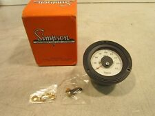 Simpson Electrical Frequency Meter NSN: 6625012770691 P/N 17994
