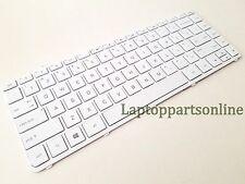 NEW HP 240 G3, 240 N, 245 G3, 240 i3 i5, 246 i3 i5 US keyboard White W/Frame