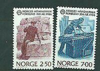 Norway - Mail 1986 Yvert 900/1 MNH