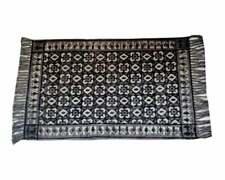 Hand Block Printed Abstract Kitchen Rug Floor Runner Doormat Indoor Mat