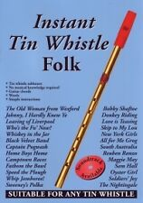 INSTANT TIN WHISTLE FOLK (BLUE)