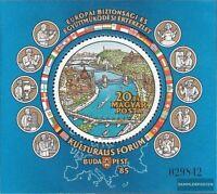Ungarn Block180A (kompl.Ausg.) postfrisch 1985 KSZE