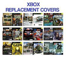 Rétro Microsoft Xbox jeu de remplacement de cas couvre