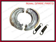 Brand New Royal Enfield 350cc Front Brake Shoe With Lining Springs