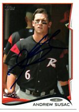 Andrew Susac Richmond Flying Squirrels 2014 Topps Pro Debut Signed Card
