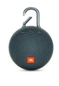 JBL Clip 3 Portable Waterproof Wireless Bluetooth Speaker Blue (New)