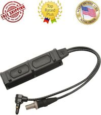 """Surefire SR07-D-IT Remote Dual Switch for Weaponlight w/ ATPIAL Laser 7"""" Cable"""