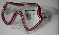 New FX Divers Sea Scout Frameless Dive Snorkeling Mask Protective Storage Box